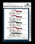 Bipolar Bayonet Forceps - Full Line