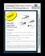 Laparoscopic Trocar Incision Closure Reusable System