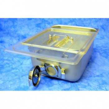 Flash Sterilization Tray with Poly Lid