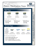 Plastic Instrument Trays