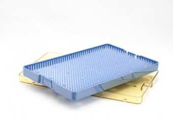 Plastic Sterilization Trays with Mats Millennium Surgical