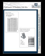 Orthopedic Drill Bits