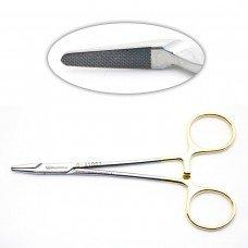 Halsey Needle Holder 5in serrated TC