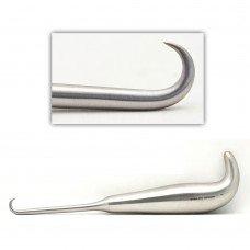 Bone Hook sharp tip 10mm wide 7.5in