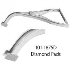 Lombardi Femoral Tibial Spreader with Diamond Pads