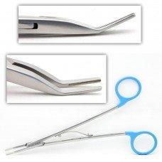 Clip applier straight 190mm for medium clips