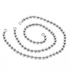 Ball Chain W/out Hook 26cm PK 2