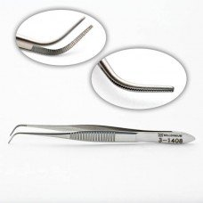 Serrated Dressing Forceps Sg/Cvd/Del