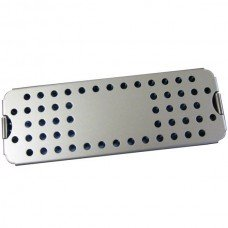 ALUMINUM STERILIZATION TRAY SMALL w/ MAT