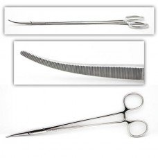 Bengolea Forceps Curved Serrated Jaws 9.5in