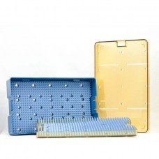 6.0x10x1.5 Micro Tray Dbl- Base Ins Tray Lid