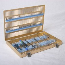 Microsurgical Case Single Level w/ pin mat st