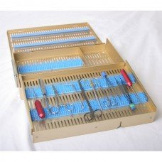 Microsurgical Case Two level 10.5inx15inx2.5in