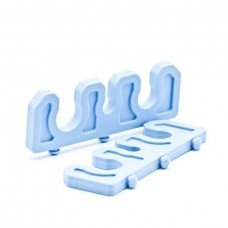 SILICONE BAR 3 SLOT OPEN PHACO 7MM & 18MM