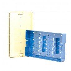 6.0x10x1.5 Phaco Tray - Base Lid & 2 Bars three slots