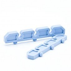 Bar Silicone 3 Slot Open End Round - 5 mm