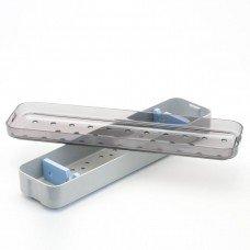 2.6x12x1.5 Scope Tray - Base, Lid & Mat