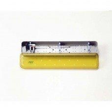 2.6x16x1.5 Scope Tray - Base Lid & 2 Bars