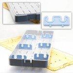6.5x18x1.5 Scope Tray - Base Lid & Bars