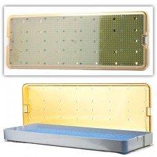 6.5x18x1.5 Scope Tray - Base Lid & Mat