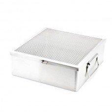 Instrument Tray W/ LID 10.5 x 10.5 x 3.5