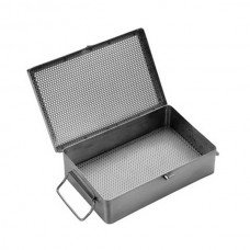 STAINLESS STEEL TRAYS WITH LID 15x 25 x 3 1/2