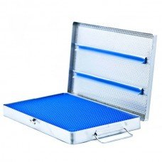 MICRO INSTRUMENT TRAY W/MAT 8.5in x 12in x 1 1/8