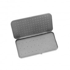 STERILIZATION TRAY 8in X 12in X 1in W/MAT