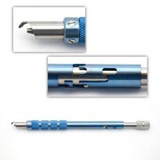 DIAMOND STEP KNIFE TITANIUM TRIFACET 1mmx6mm