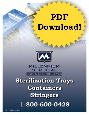 Sterilization Trays Containers Stringers 1-800-600-0428