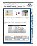 Arthroscopy-Sinuscopy