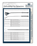 Articulating Fan Retractors