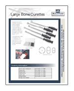 Large Bone Curettes