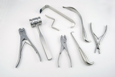 Hip and Knee Surgical Instruments
