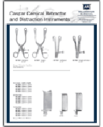 Caspar Cervical Retractor and Distraction Instruments