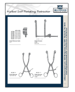 Kobel Self Rotating Retractor